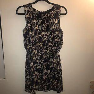 Forever 21 Dress with Pockets | Purple Black White